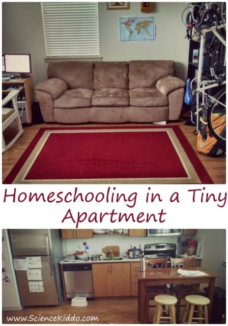 Our Homeschool Room | Urban Homeschooling