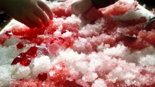 Candy Cane Play Gel | Winter Sensory Fun