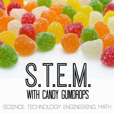 Gumdrop Graphs | Candy Math The Science Kiddo
