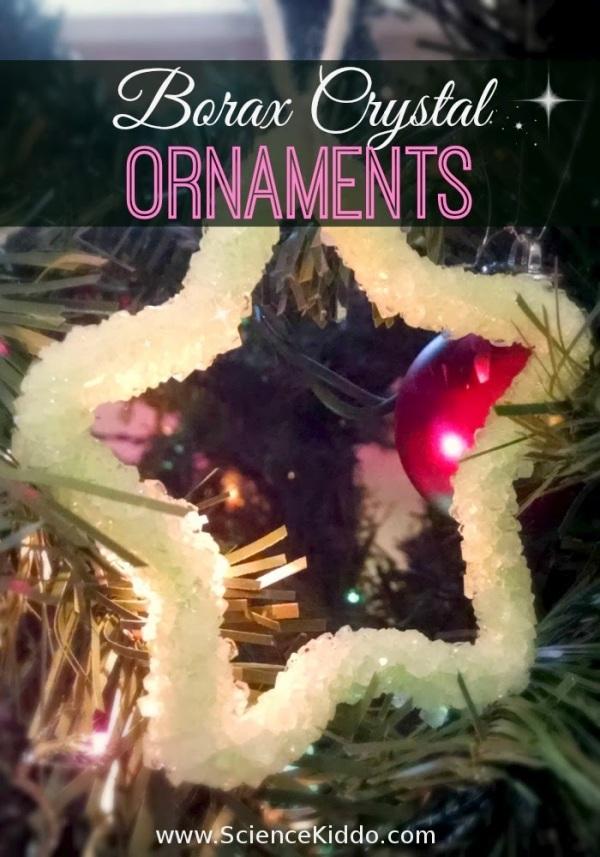 Borax Crystal Ornaments | Christmas Science | Star