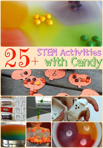 STEM Activities with Candy | Candy Math and Science