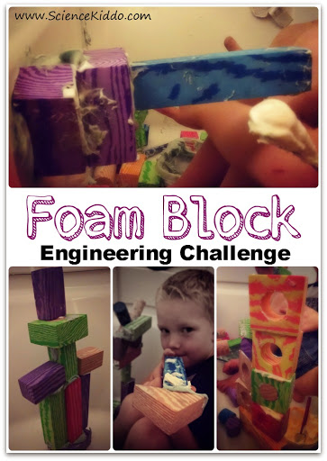 Foam Block Engineering Challenge | Simple STEM for Kids