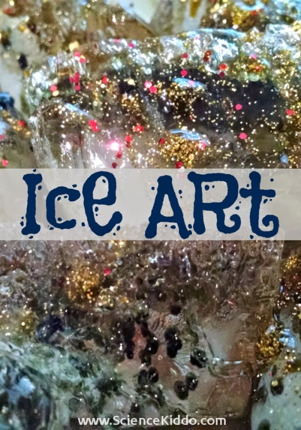 Ice Art | Winter Science | The Science Kiddo