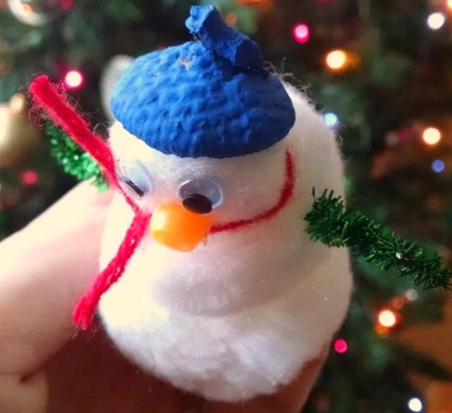 Borax Crystal Snowy Snowman | Winter Science Craft