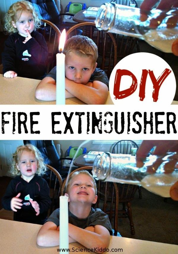 DIY Fire Extinguisher | Baking Soda and Vinegar